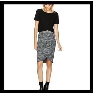 Wilfred free Tyra skirt black mix